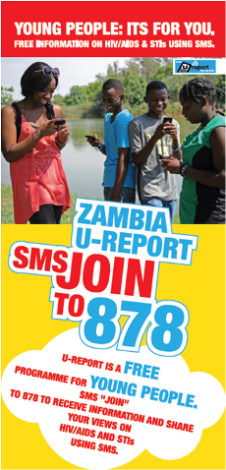 Zambia U-Report- for young people